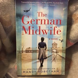 The German Midwife paperback by Mandy Robotham